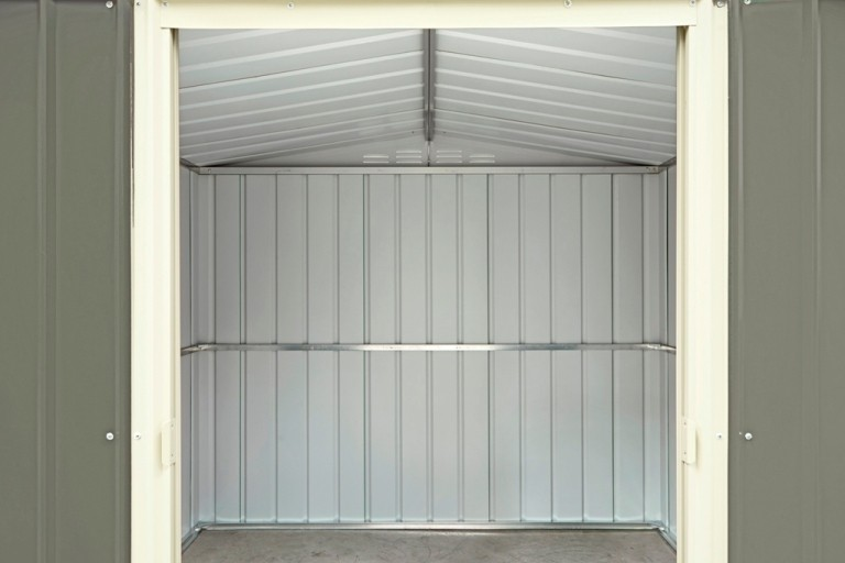 plastic metal garden sheds outdoor storage buildings low maintenance weather damp resistant sheds